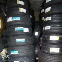 Different sizes of quality tyres from premium brands