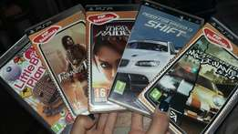 Psp with five games
