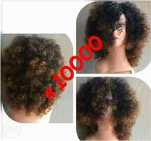 Wigs available