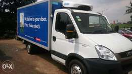 Newly register iveco ice cooling truck 2010