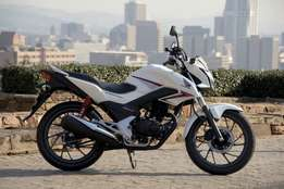 Brand New Honda CB125F, WAS R35 000, NOW Only R25 000.00!