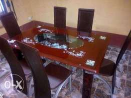 YZ Brand New Six Seater Dining Table Set