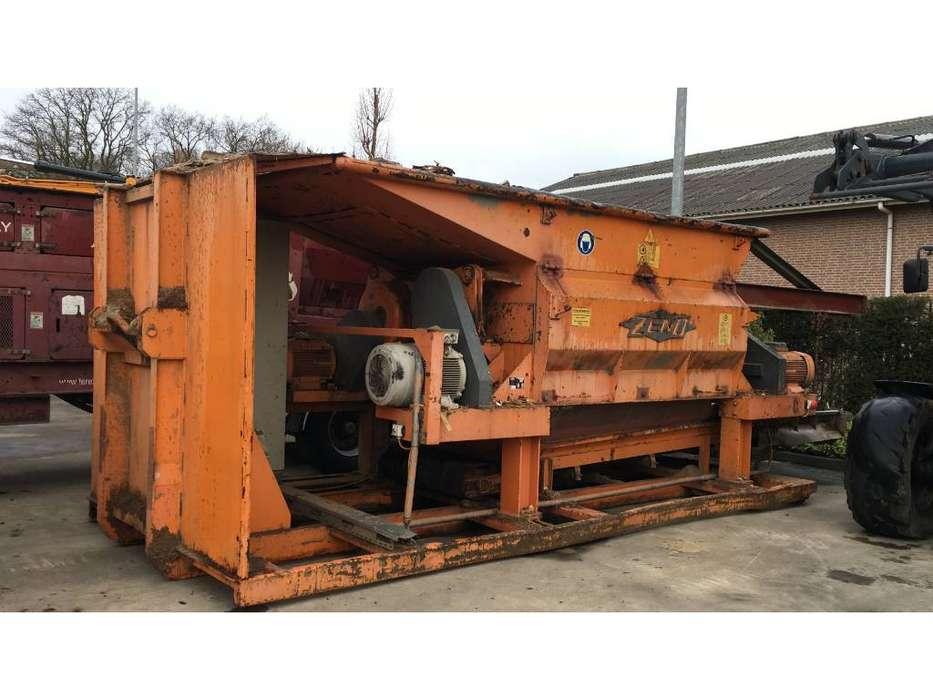 Zeno  ZDV 2500 x 2000 hout schredder - 1996