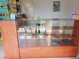 Wooden Shop Counters