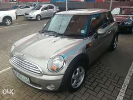 2007 Mini Cooper with 114500km.