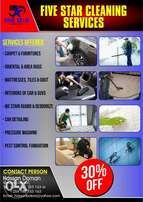Car interior cleaning & buffing