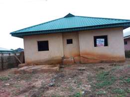 two uncompleted flat for sale in Benin City