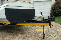 7ft Luggage Trailer