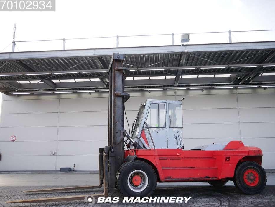 Linde H160-1200 Side shift - good tyres - 1993 - image 2