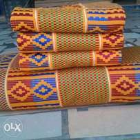 Odo Chain and Aky3m Design Kente Cloth.