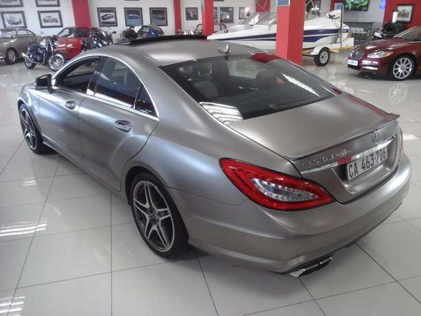 2012 Mercedes Benz CLS 63 AMG V8 Bi-Turbo Salt River - image 4