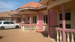 A beautiful 2 bedroom house for rent at 400,000 in entebbe mpala