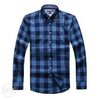 Tommy Hilfiger Checkered Long Sleeve Shirt - Multicolor