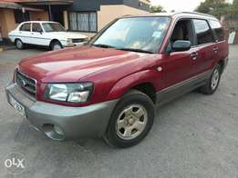 2003 Subaru Forestor Kcj Ex UN. Extremely clean buy and drive.