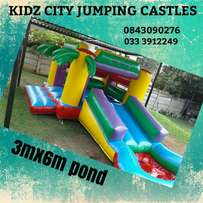 Kidz city jumping castles for hire