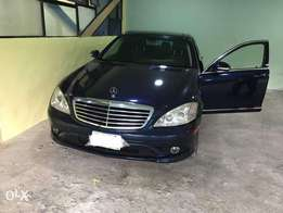 Clean used Mercedes Benz S550