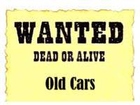 Old Cars wanted