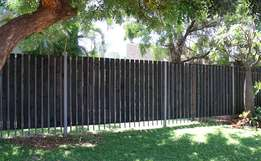 Palisade Cladding!! Secure your Palisade Fence!