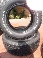 2xtyres BF Goodrich A/T 265/65/18,Close to 50 percent