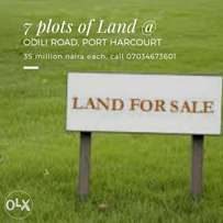Land for sale at Odili Road