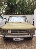 1974 Fiat 125s colectable.
