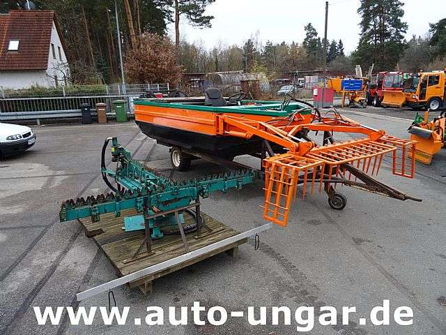 Conver C 480 H Mähboot Aquatic Weed Harvester T-ba - 2004