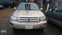 Nigerian used Toyota highlander for sale in phc