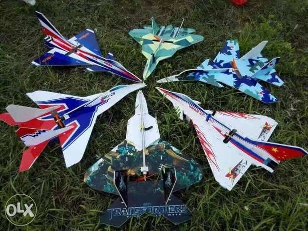 Remote control plane electric ARF fast and easy to fly