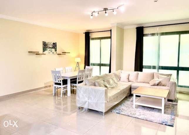 145 SQM - 2BR apartment with swimming pool & gym - 3 balconies