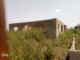 An uncompleted bungalow