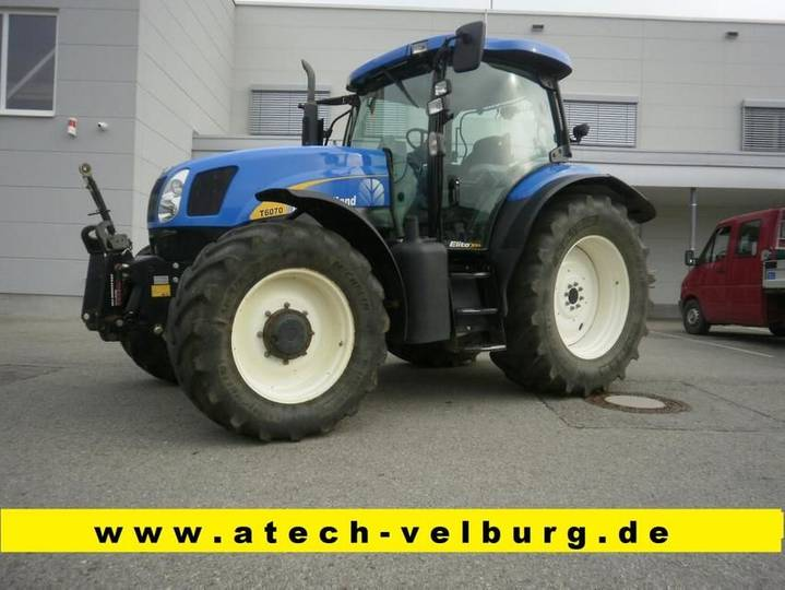 New Holland t 6070 elite - 2011