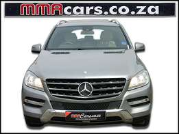 2013 MERCEDES-BENZ ML 250 Blue tech 4MATIC R429,890.00