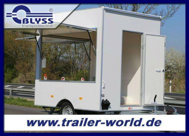 Blyss Verkaufsanhänger 250x200x230 cm Anhänger 1300kg