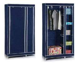 Portable 2 columns wooden wardrobes we deliver COUNTRYWIDE