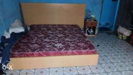 King size orthopedic bed