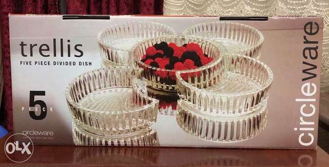 Circle Ware - Trellis - 5 Piece Divided Dish