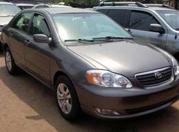 clean and neat toyota corolla Le 1.8 Liters