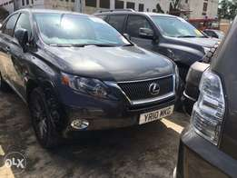 Lexus RX 450.with leather seats