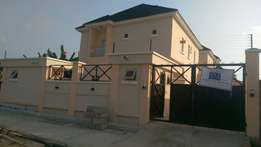 (govt Consent) A 5bedroom detached duplex with a BQ