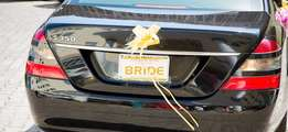 Wedding Plate Number
