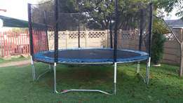 14ft trampoline for sale.