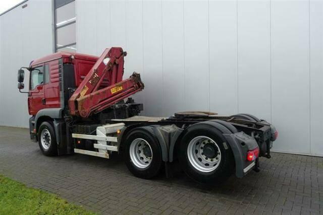 MAN Tga28.310 6x2 Crane/kran Hmf 1220 K4 Ual Euro - 2006 - image 6