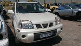 Nissan extrail 2.0i 2006 model stripping for spares