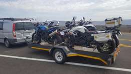Motorcycle Transport / Courier PE-JHB-PE