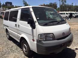 Mazda Bongo, 2000cc manual diesel, kck, 2wd/4wd shift, 2010, new tyres
