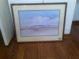 Lovely water colour painting by artist Richard Rennie for sale