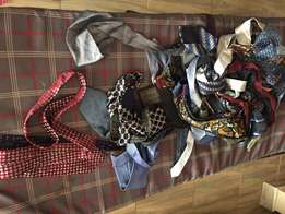 Assorted imported neck ties