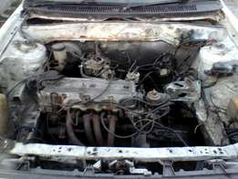 Ford Laser Body and E3/E5 engine and gearbox