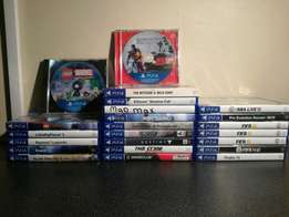 Ps4 games for sale or to trade