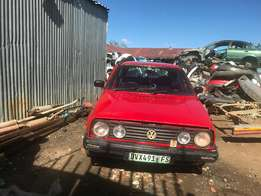 V/W GOLF 2 ... 1.8 ... stripping for spares
